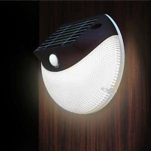 Lampada solare applique led giardino � LM003LED, Lampada solare da parete con LED, per esterni