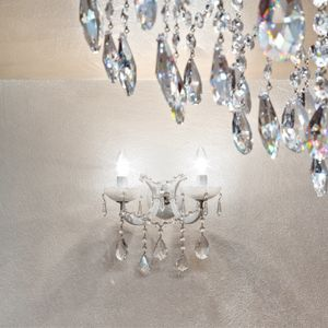 Maria Theresa AP5035-2-F-C, Applique con cristalli Asfour