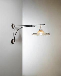 Pipistrello Vb220-050, Lampada da parete dal design tradizionale