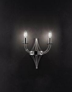 RIALTO L 32, Applique da muro a forma di candela