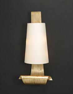 RICCIOLI LAMIERA HL1104WA-2, Lampada da parete in lamiera di ferro