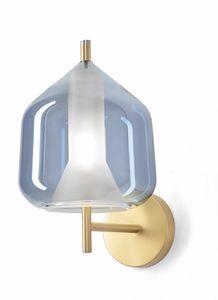 X-Ray, Lampada da parete in vetro borosilicato