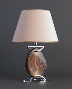 AGATA HL1033TA-1, Lampada da tavolo con agata