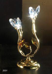 Art. 2031 Matisse, Lampada da tavolo con cristalli Swarovski