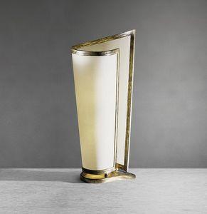 Art. 3000-02-00, Lampada con paralume in carta paraffinata beige