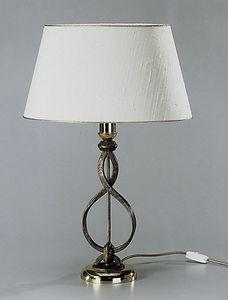 Art. 3024-01-00, Lampada da tavolo con paralume ovale shatung