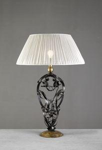 Art. 3098-01-00, Lampada da tavolo con riccioli in ferro
