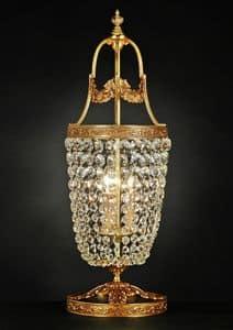 Art. 680 LT CR, Elegante lampada da tavolo in ottone