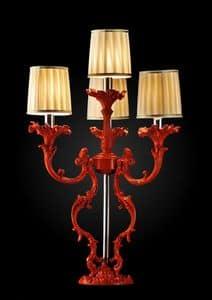 Art. Coral, Lampada da tavolo, con finitura effetto corallo