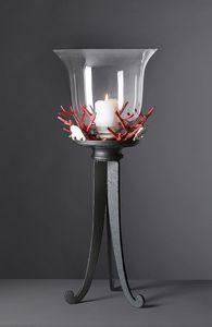 CORALLI HL1048CA, Lampada da tavolo corallo in ferro