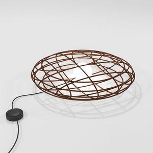 Disco, Lampada da tavolo in ferro