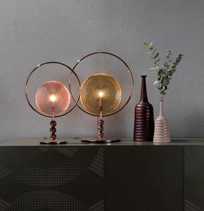 DREAMY, Lampada da tavolo e a sospensione con diffusore in vetro