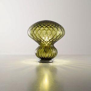 Fungo Lt624-030, Lampada da tavolo in cristallo baloton