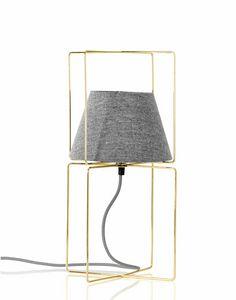 Kengo, Lampada da tavolo con paralume in tessuto