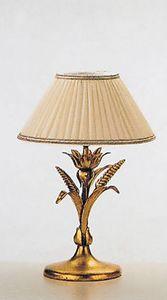 LP.5320/1/B, Lampada da tavolo con finitura in foglia oro