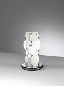 Orione Rt386-020, Lampada da tavolo moderna, a forma di bolle