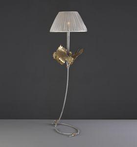 RASPO HL1073TA-1, Lampada da tavolo con foglie decorative