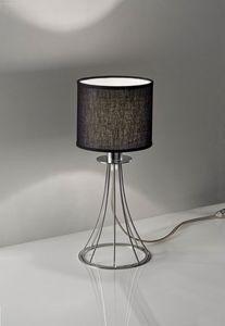 RIALTO H 34, Lampada da tavolo per comodini e scrivanie