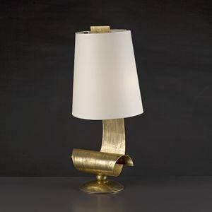 RICCIOLI LAMIERA HL1104TA-2, Lampada da tavolo in lamiera di ferro