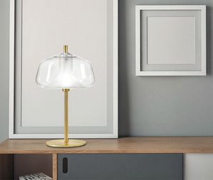 X-Ray, Lampada da tavolo in vetro borosilicato