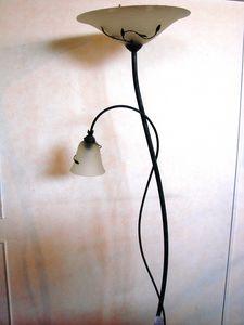 Art. 162, Piantana in ferro verniciato e vetro