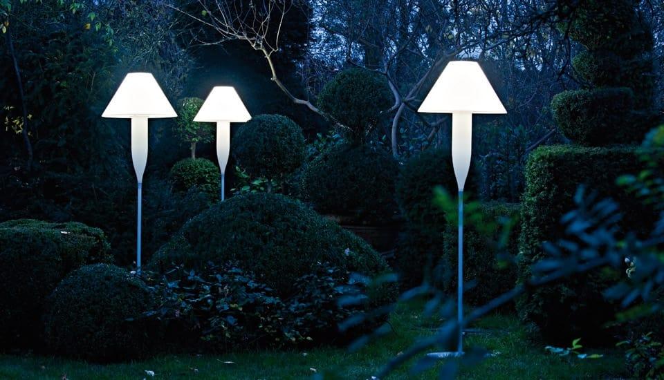 Lampada da terra per esterni e interni idfdesign