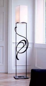 Genesis, Piantana in ferro ideale per ambienti classici ed eleganti