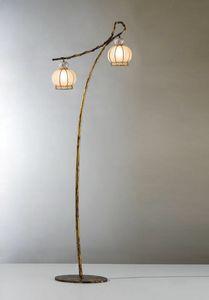 Girasole Vp199-190, Lampada da terra dal design orientale