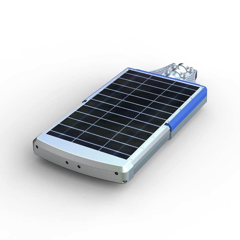Lampione professionale energia solare led Strada - LS300LED, Lampione stradale a luce solare, con batteria al litio