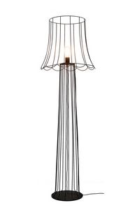 Lucilla H6051VN, Piantana relaizzata in ferro color ruggine