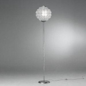 Pouff Rp383-185, Lampada da pavimento dal design moderno