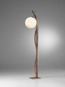 Sfera Rp370-180, Piantana  con diffusore a sfera, dal sapore etnico