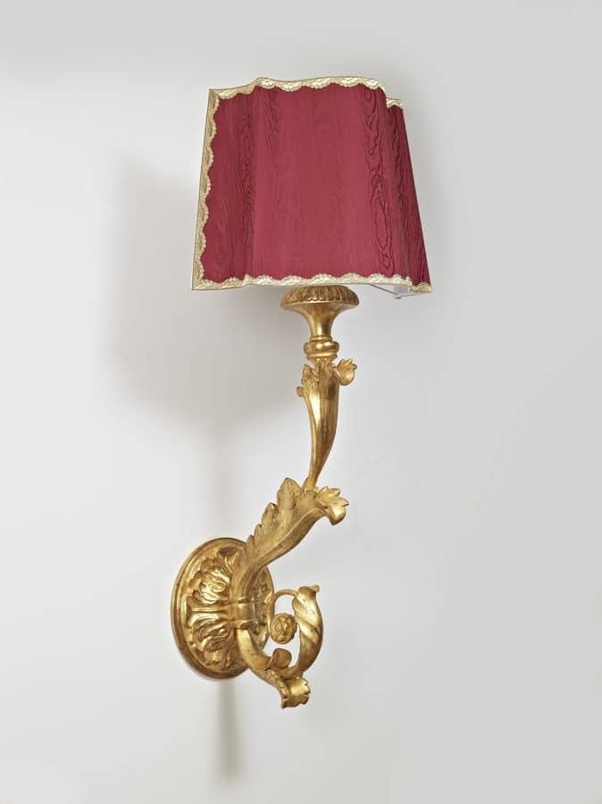 lampadari a muro : LAMPADA A MURO ART. LM 0019, Lampadari cristallo