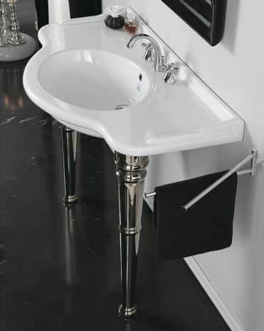 Lavabo A Consolle In Ceramica.Consolle Lavabo In Finissima Ceramica Idfdesign