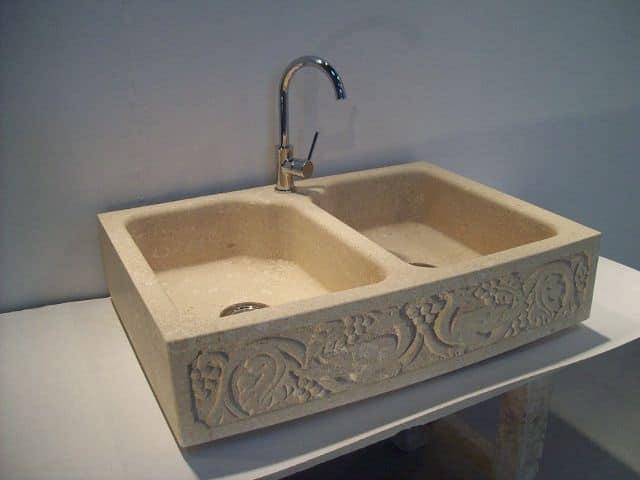 Venezia, Lavello in pietra da cucina, lavello su misura per la casa