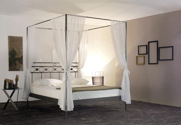 Letto matrimoniale divina letto a baldacchino - Baldacchino per letto matrimoniale ...