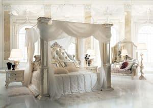 Dream, Letto classico con baldacchino per suite