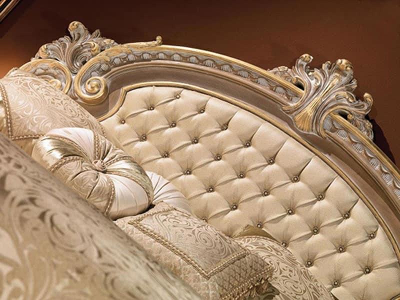 Camere Da Letto Classiche Color Avorio : Letti classici ed in stile di lusso idf