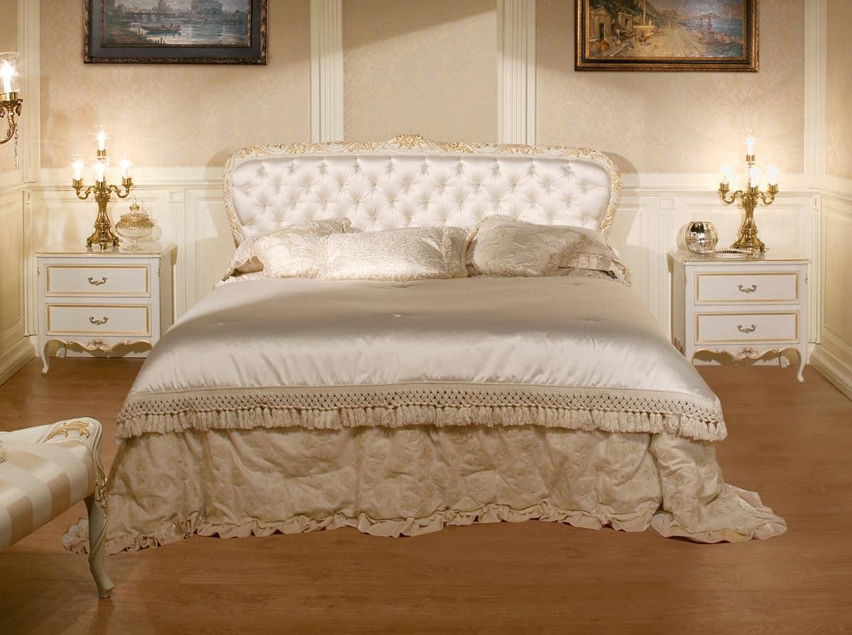Art 1070 letto giroletto intagliato letto giroletto - Pediera del letto ...