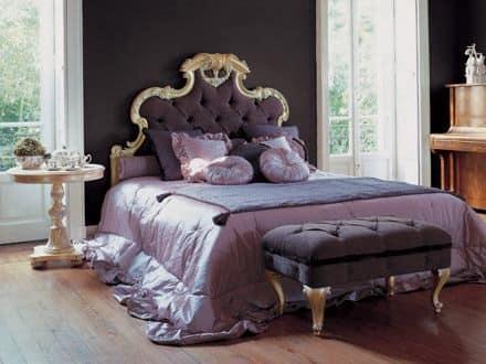 Letto imbottito per camere da letto in stile classico - Camere da letto stile classico ...