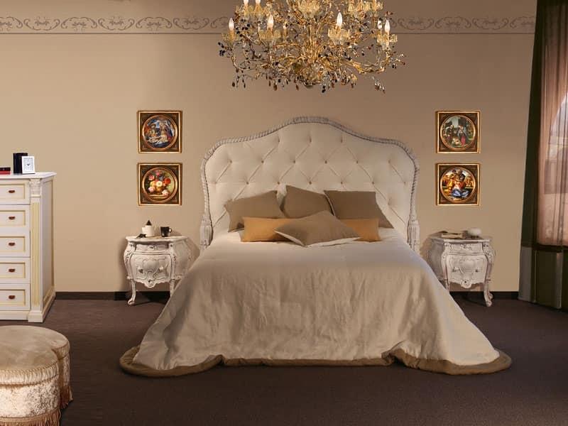 Letti classici ed in stile di lusso idf - Cabeceras de cama acolchadas ...