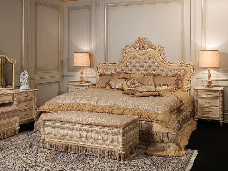 Barocco letto 796 di palmobili srl prodotti simili for Letti classici