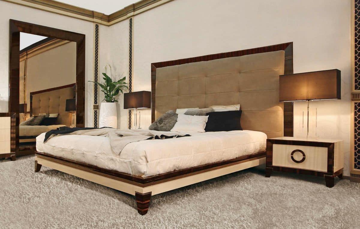 Letto matrimoniale testata imbottita per alberghi di - Testata per letto ...