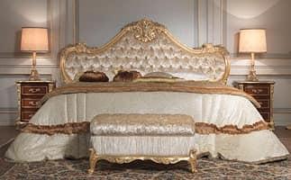 Letto lavorati a mano intagliato per camere in stile - Camere da letto stile barocco moderno ...