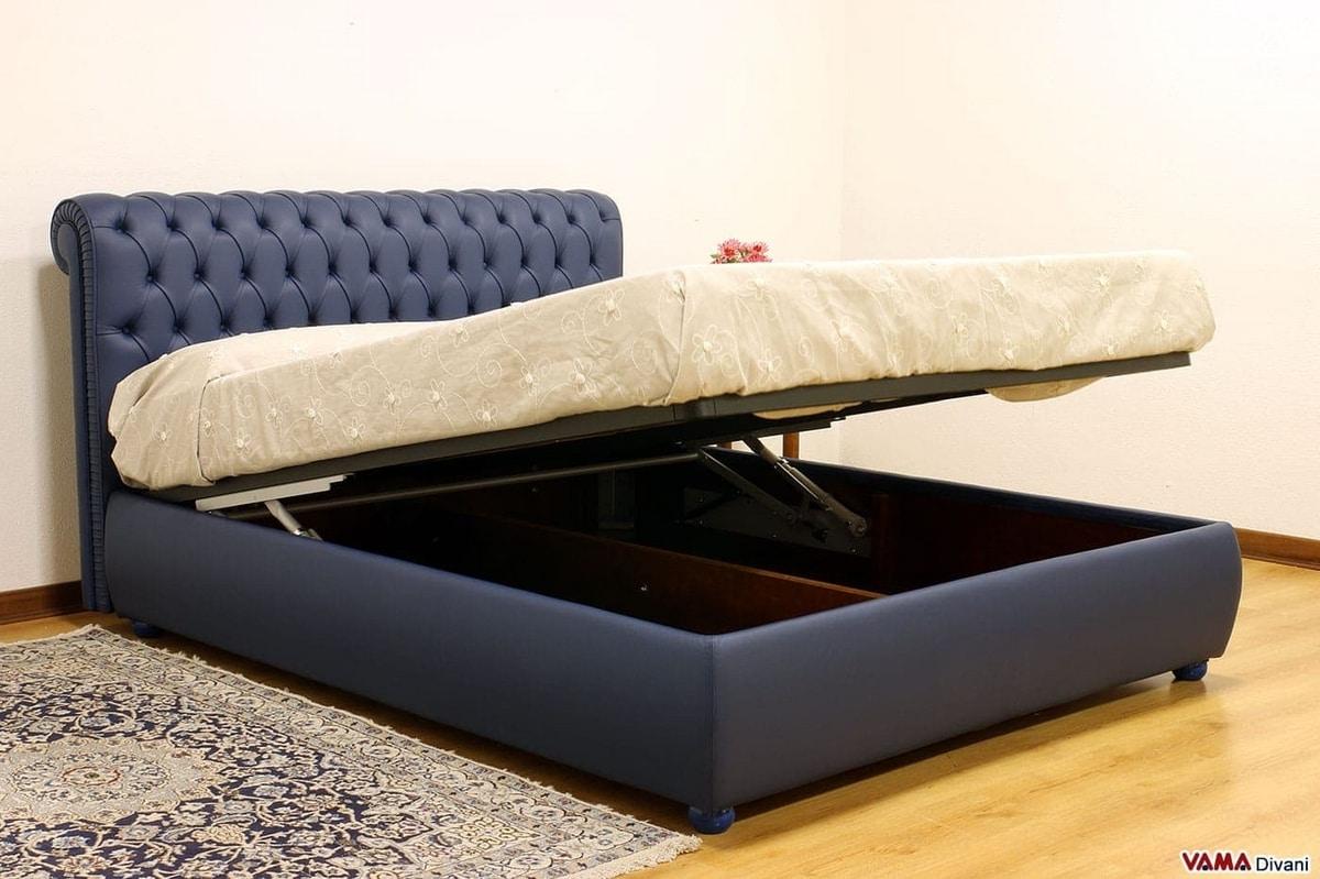 Chesterfield letto, Il letto con testata capitonné per eccellenza