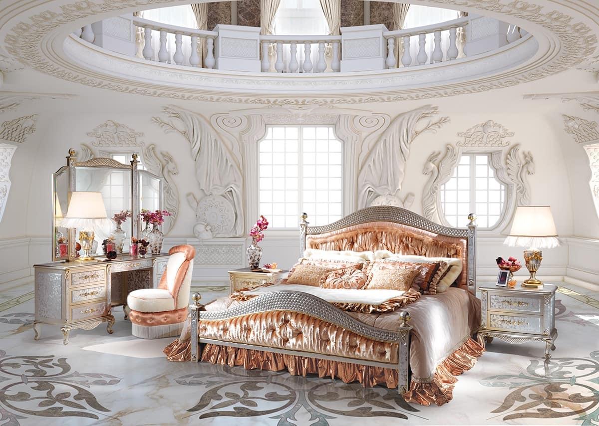 composizione camera da letto classica di lusso idfdesign