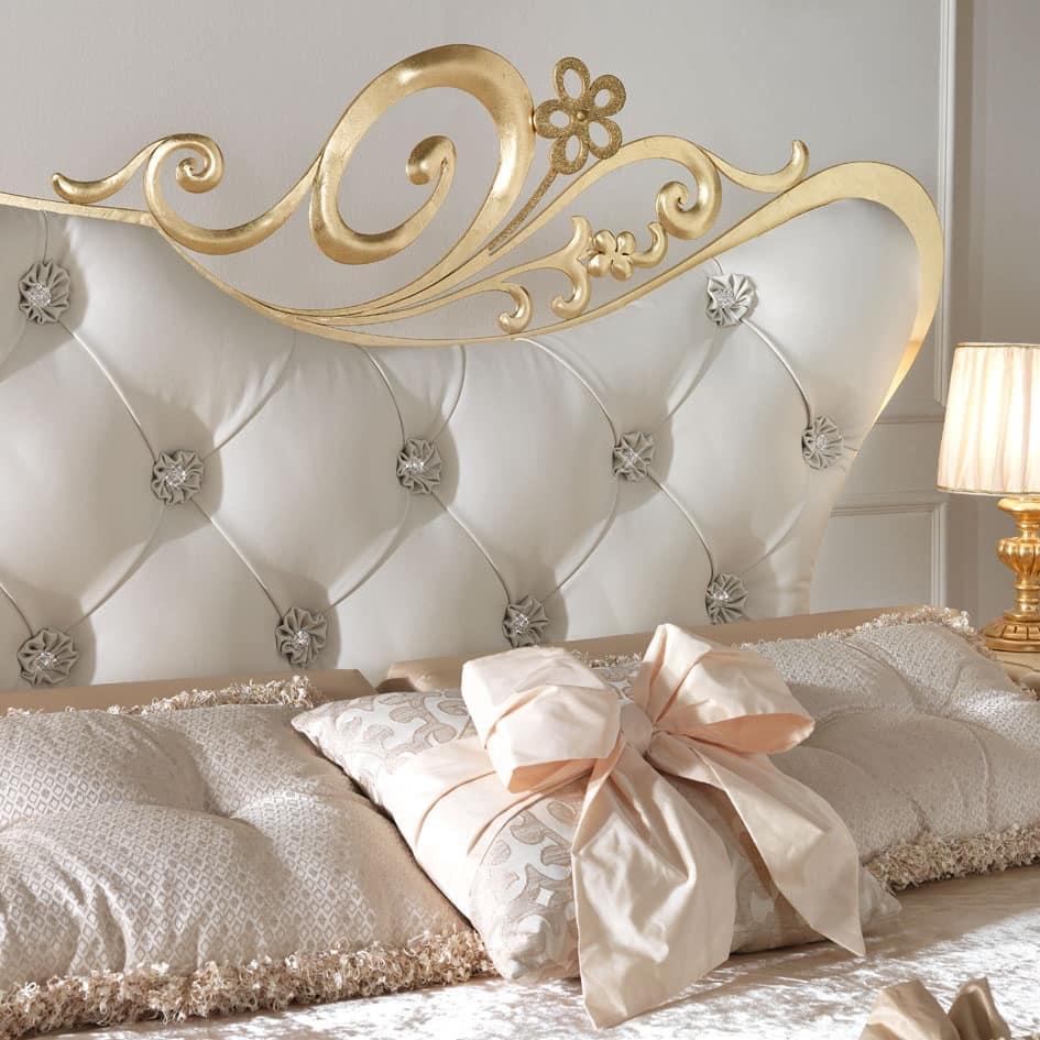 Camere Da Letto Gotha.Letto Matrimoniale In Metallo Per Camere Da Letto Idfdesign
