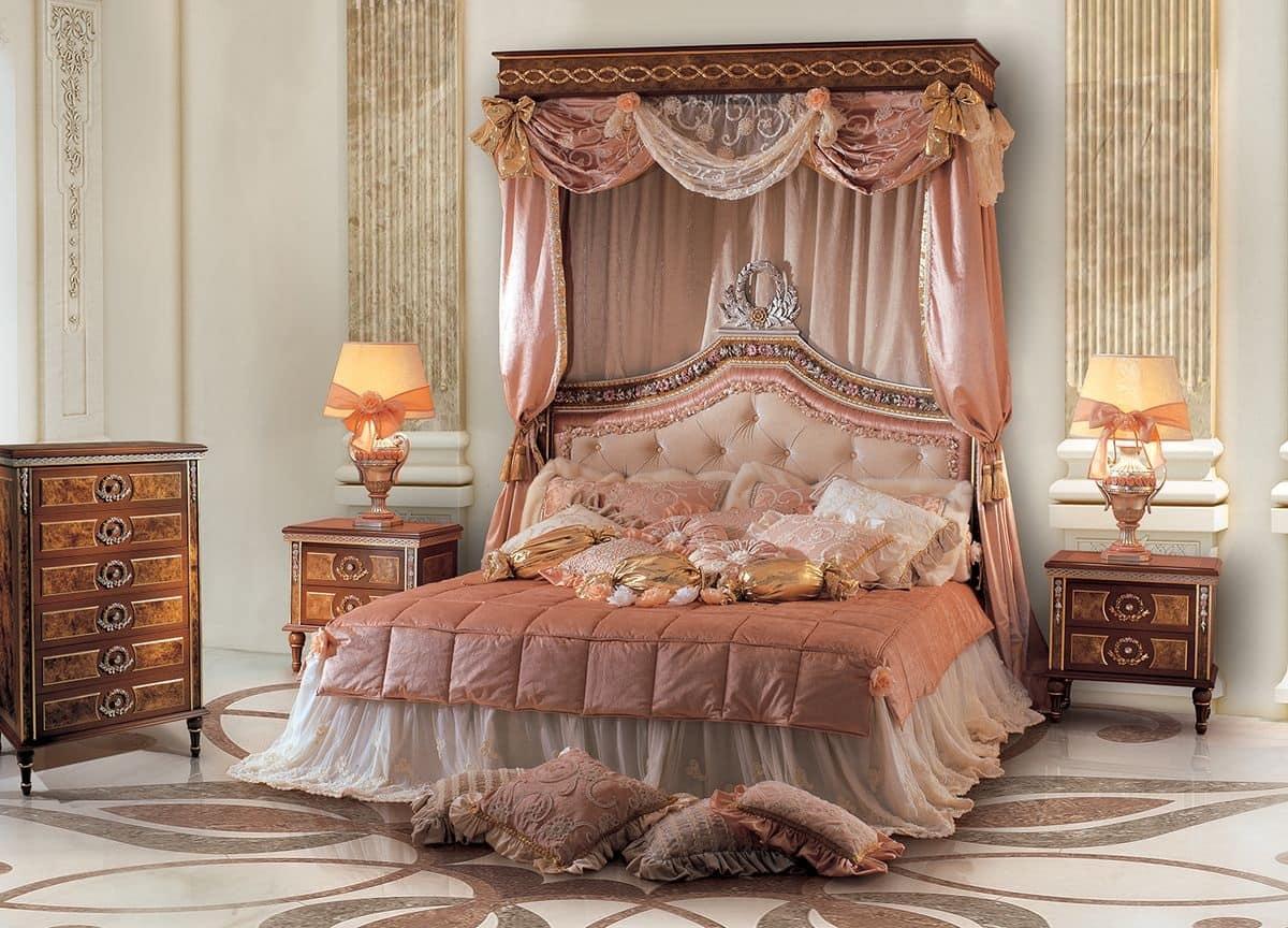 Letti matrimoniali classici di lusso design casa for Letti classici