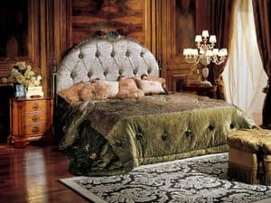 Paradise letto, Letto con testiera capitonné