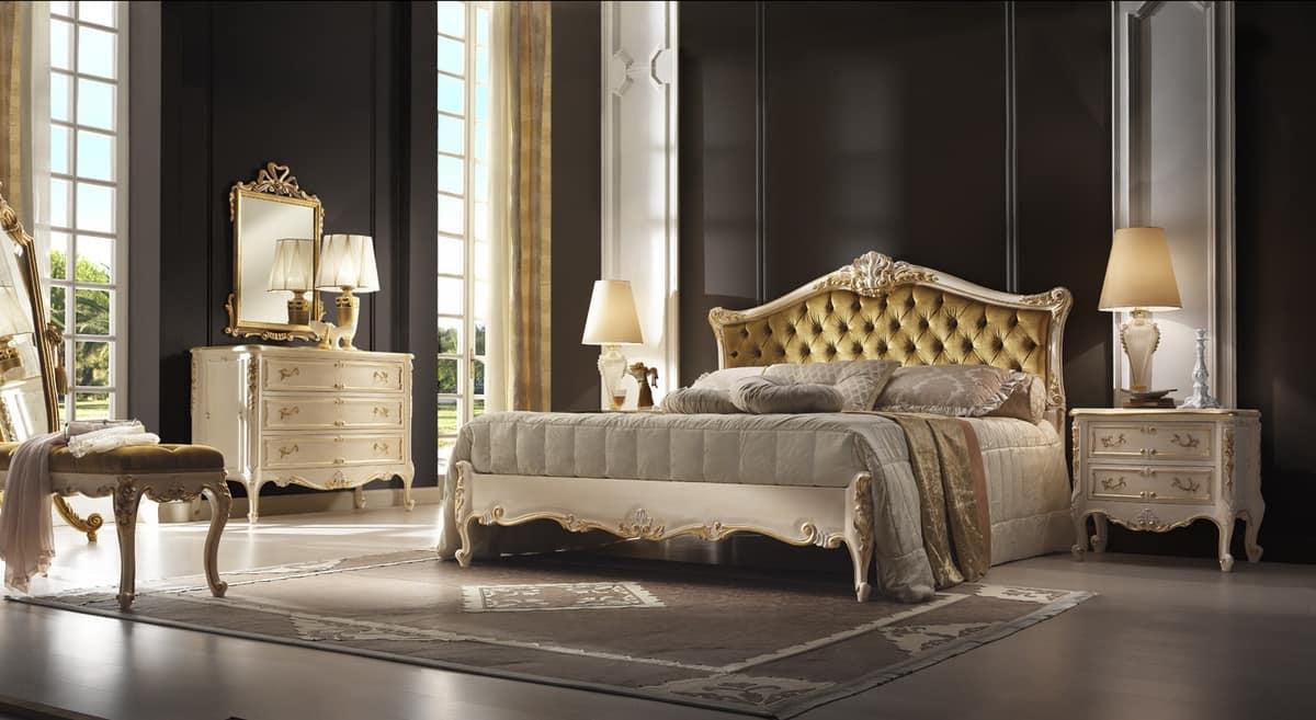 R45 / letto, Lussuoso letto dallo stile romantico